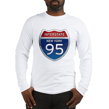 Interstate 95 - New York Long Sleeve T-Shirt