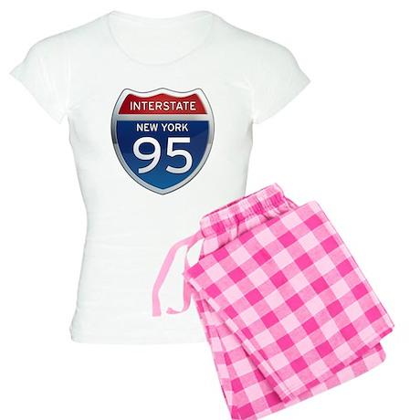 Interstate 95 - New York Women's Light Pajamas