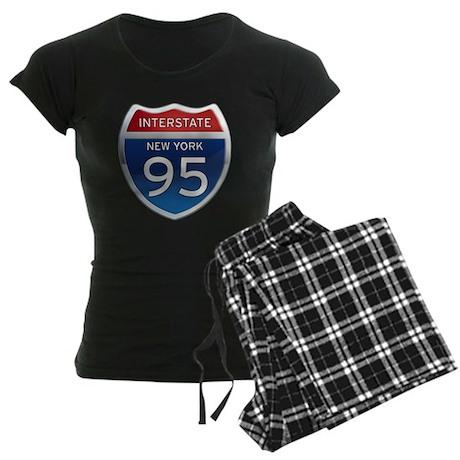 Interstate 95 - New York Women's Dark Pajamas
