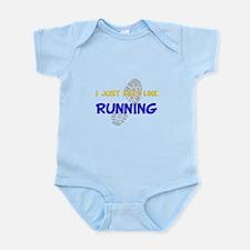 Felt Like Running Infant Bodysuit