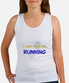 Felt Like Running Women's Tank Top