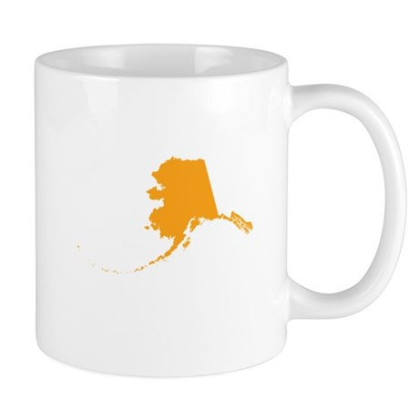 Orange Alaska Mug