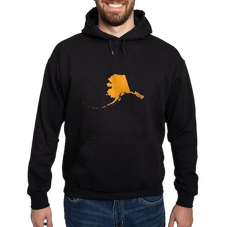 Orange Alaska Hoodie (dark)