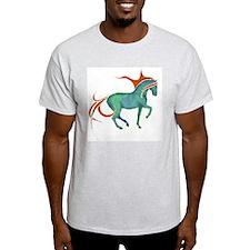 mosaic horse Ash Grey T-Shirt