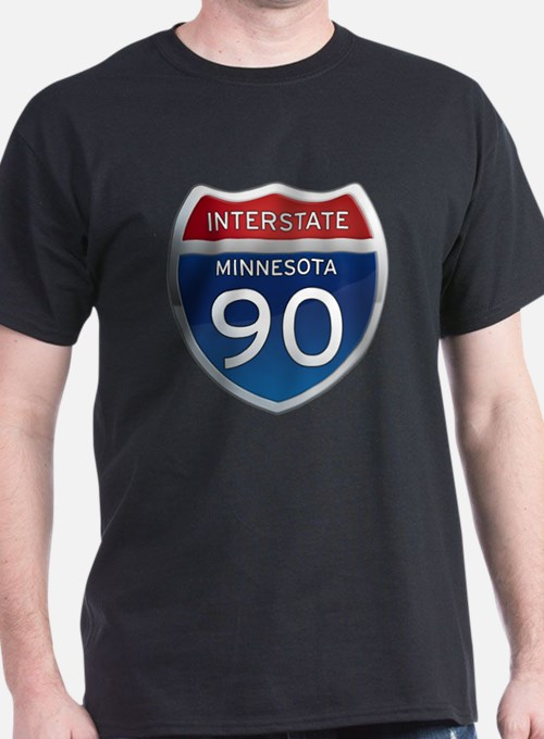 Interstate 90 - Minnesota T-Shirt