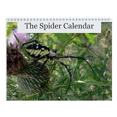 Spider Wall Calendar