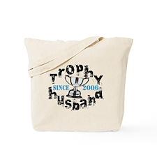 Trophy Husband Year & Name Tote Bag