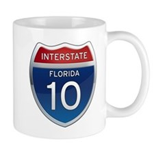 Interstate 10 - Florida Mug