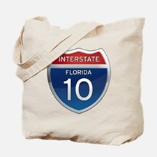Interstate 10 - Florida Tote Bag