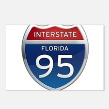 Interstate 95 - Florida Postcards (Package of 8)