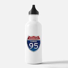 Interstate 95 - Florida Water Bottle