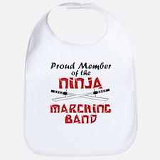 Ninja Marching Band Bib