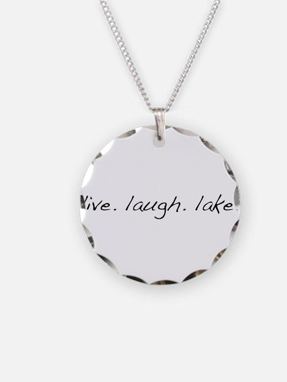 Live. Laugh. Lake. Necklace