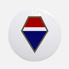 12th Army Group Ornament (Round)