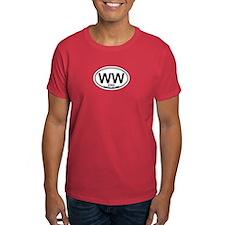 Wildwood NJ - Oval Design T-Shirt