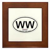 Wildwood nj Framed Tiles