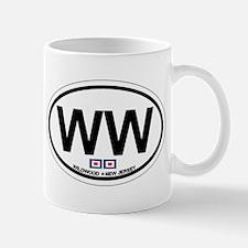 Wildwood NJ - Oval Design Mug