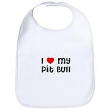 I * my Pit Bull Bib