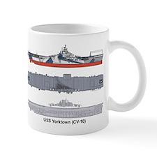 USS Yorktown CV-10 CVA-10 Mug
