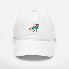 mosaic horse Baseball Baseball Cap