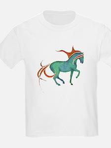 mosaic horse Kids T-Shirt