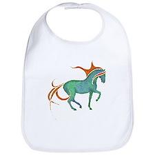 mosaic horse Bib