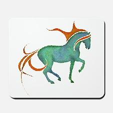 mosaic horse Mousepad