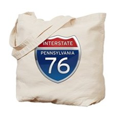 Interstate 76 - Pennsylvania Tote Bag