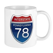 Interstate 78 - Pennsylvania Mug