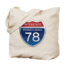 Interstate 78 - Pennsylvania Tote Bag