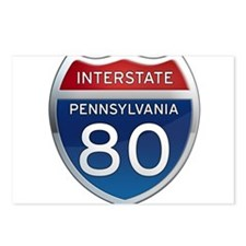 Interstate 80 - Pennsylvania Postcards (Package of