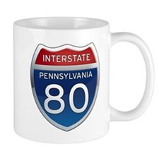 Interstate 80 - Pennsylvania Mug