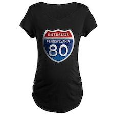Interstate 80 - Pennsylvania T-Shirt
