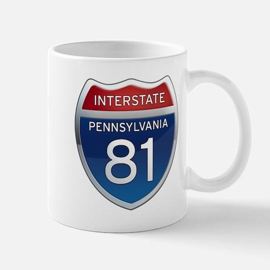 Interstate 81 - Pennsylvania Mug
