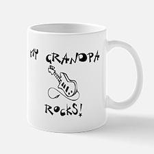 My Grandpa Rocks Guitar Mug