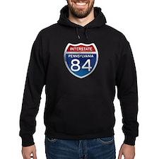 Interstate 84 - Pennsylvania Hoodie