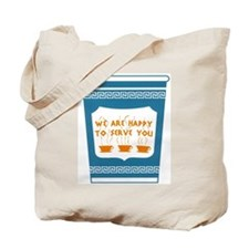 """NYC """"Blue Cup"""" Tote Bag"""