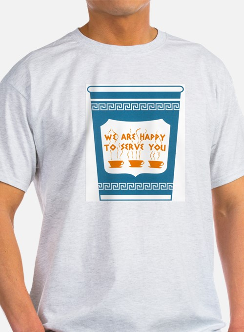 "NYC ""Blue Cup"" T-Shirt"