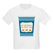 """NYC """"Blue Cup"""" T-Shirt"""