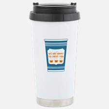 "NYC ""Blue Cup"" Stainless Steel Travel Mug"