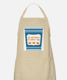 "NYC ""Blue Cup"" Apron"