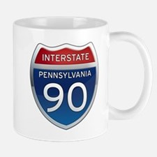 Interstate 90 - Pennsylvania Mug