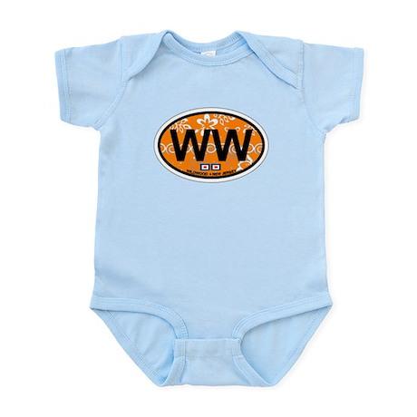 Wildwood NJ - Oval Design Infant Bodysuit
