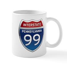 Interstate 99 - Pennsylvania Mug