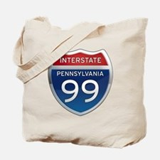 Interstate 99 - Pennsylvania Tote Bag