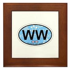 Wildwood NJ - Oval Design Framed Tile