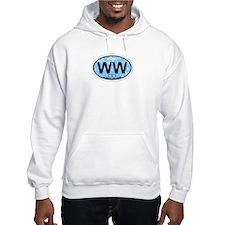 Wildwood NJ - Oval Design Hoodie