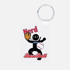 Nerd Ninja BaseBall Keychains