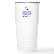 Just An Average Formula Travel Mug