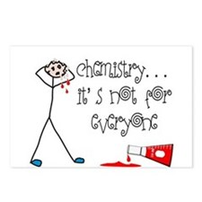 Chemist Postcards (Package of 8)